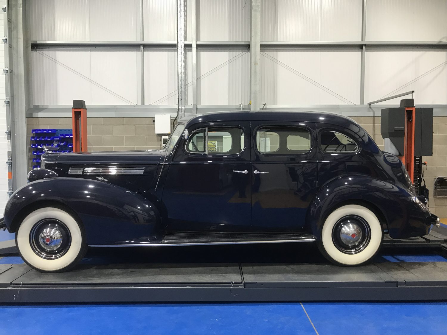 Cleaning up our 1939 Packard 120