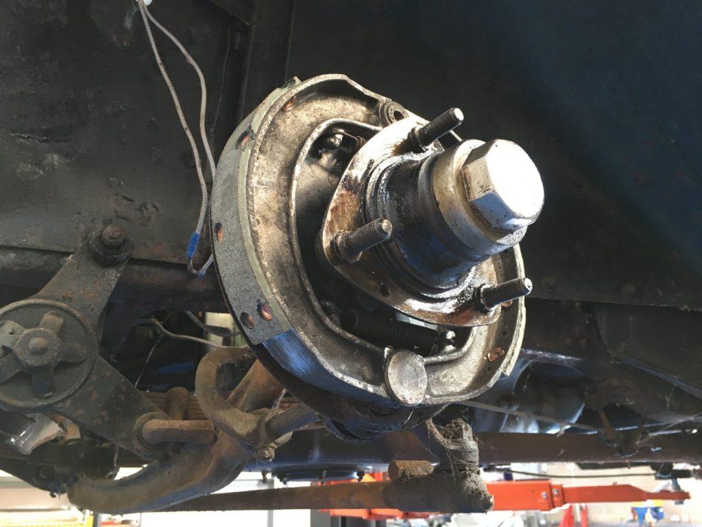 Rebuilding the Austin 10 brakes