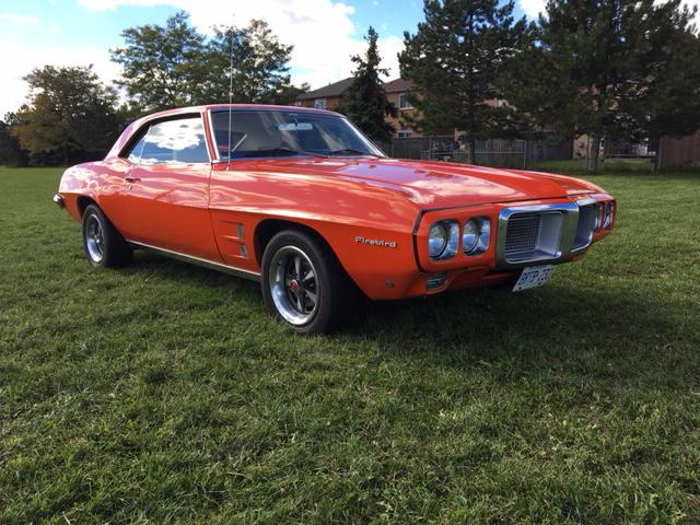 Our 1969 Pontiac Firebird will be leaving Canada very soon