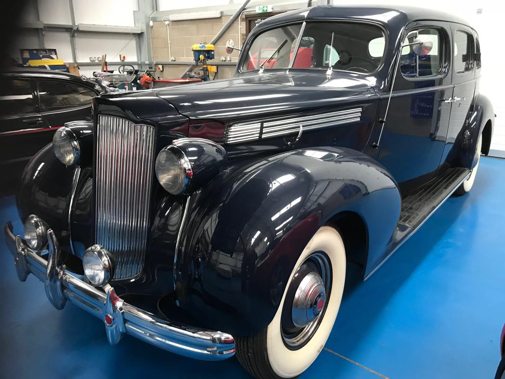 Recommissioning our 1939 Packard 120