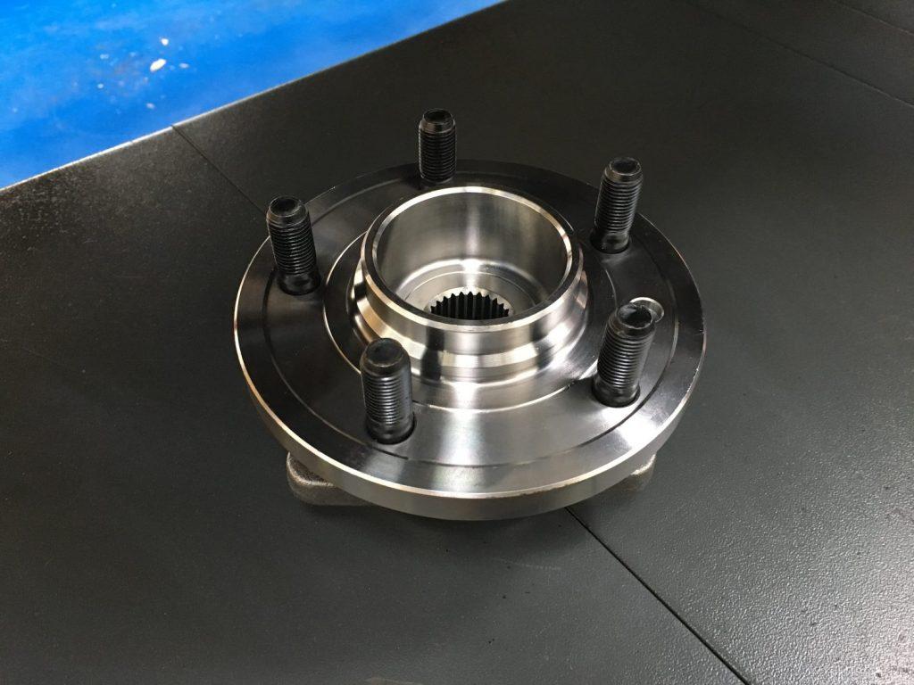 Replacing the worn wheel bearings