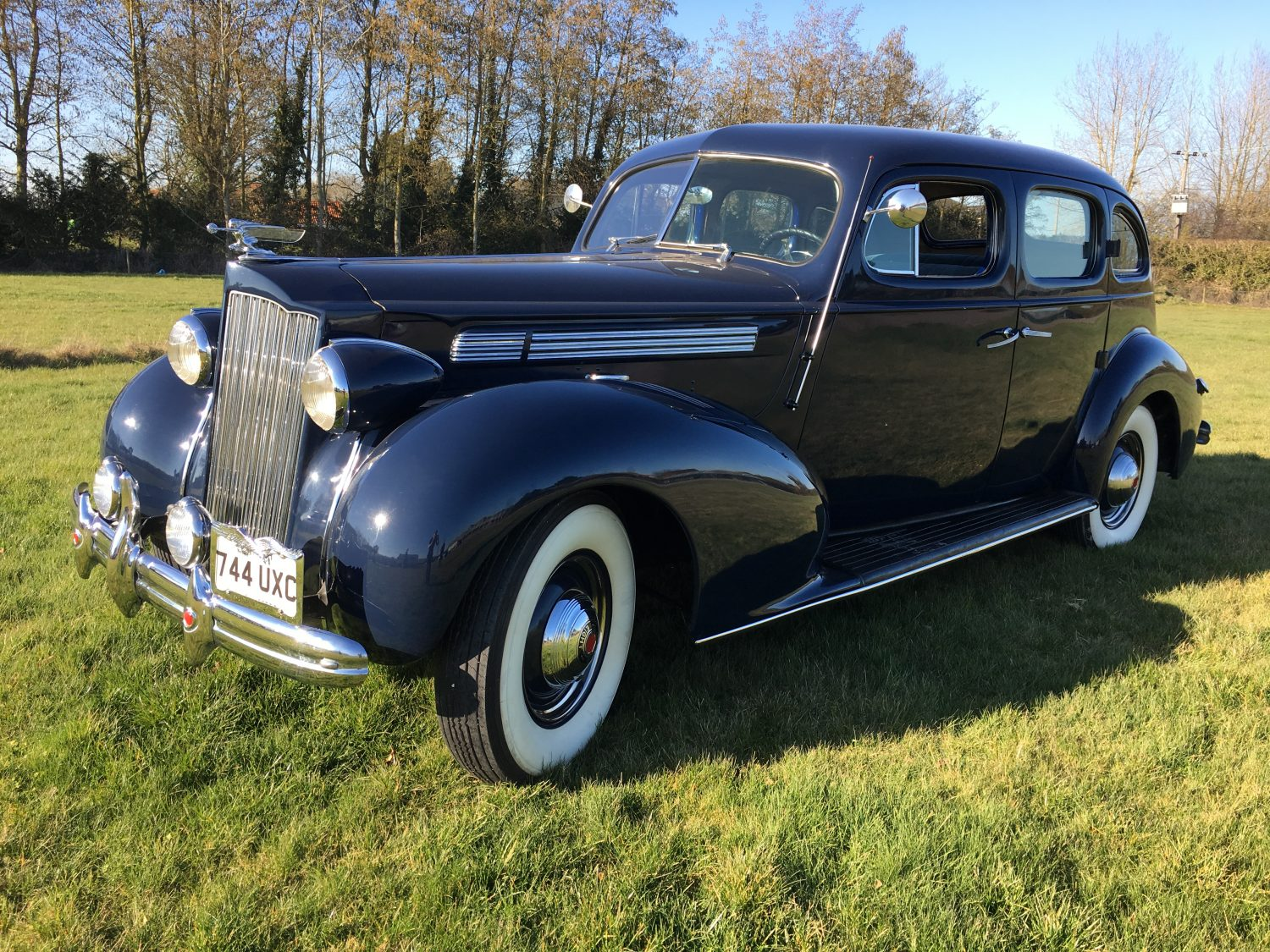 The sun's out, the Packard's out