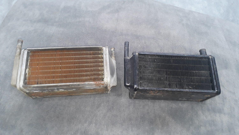 Overhauling the heater matrix'