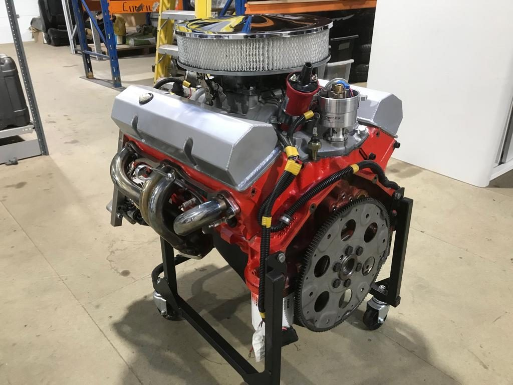 1969-70 – 355 Small Block Chevrolet Engine, 5.8 litres