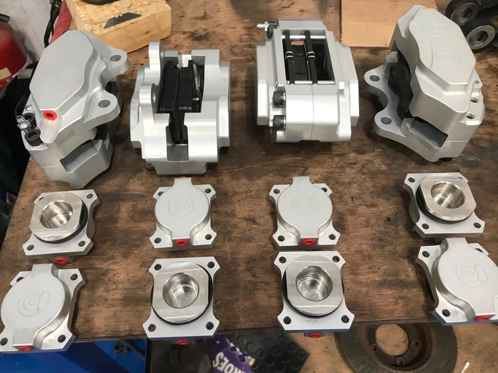 Coopercraft International – Uprated brakes for our Jensens