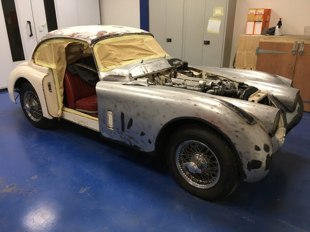 Jaguar XK150S – Body Preparation