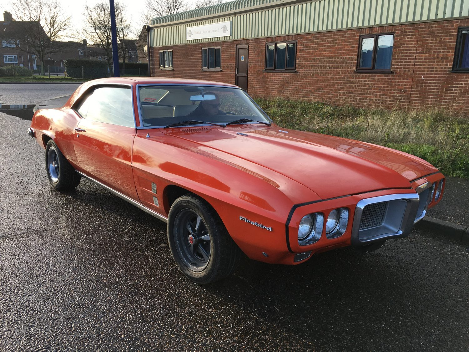 Arrived in time for Christmas: 1969 Pontiac Firebird