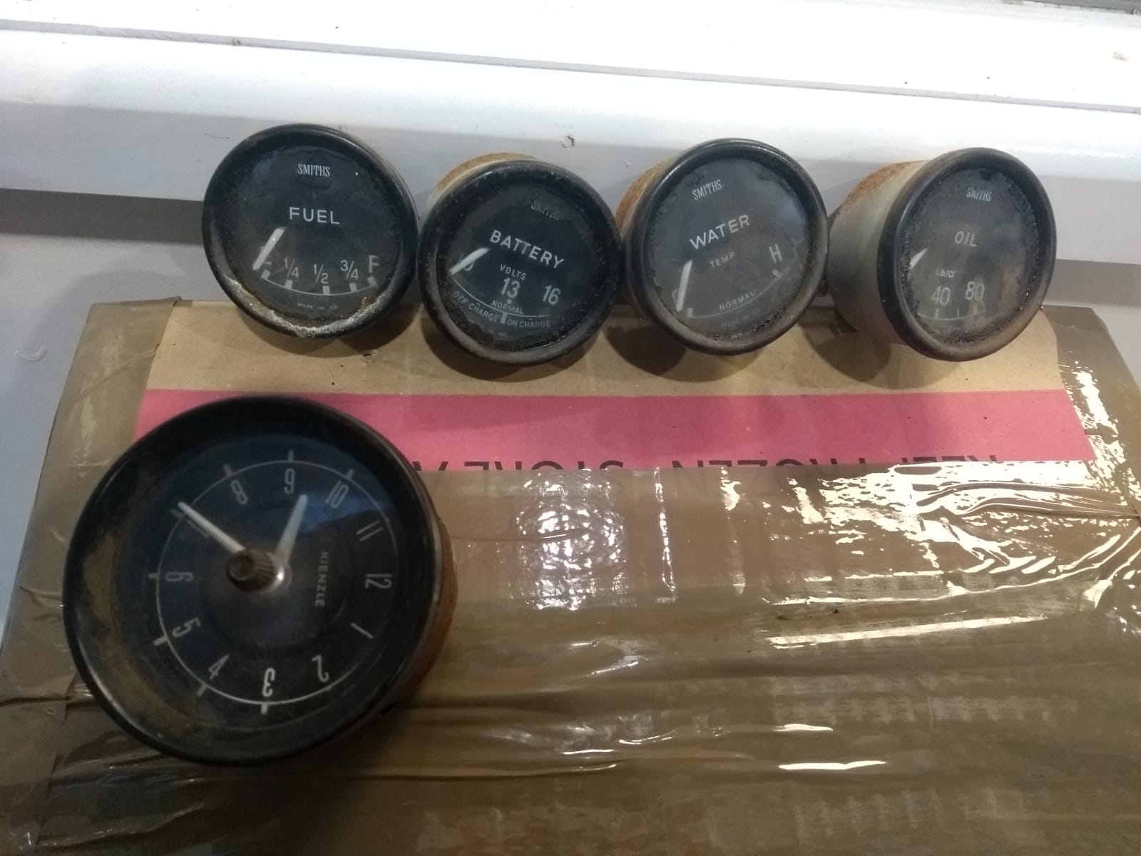 Refurbishing a collection of dials