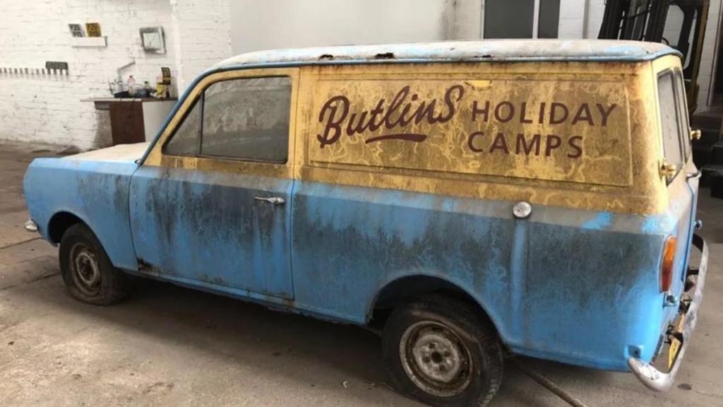 Arriving today: 1983 Bedford HA Van