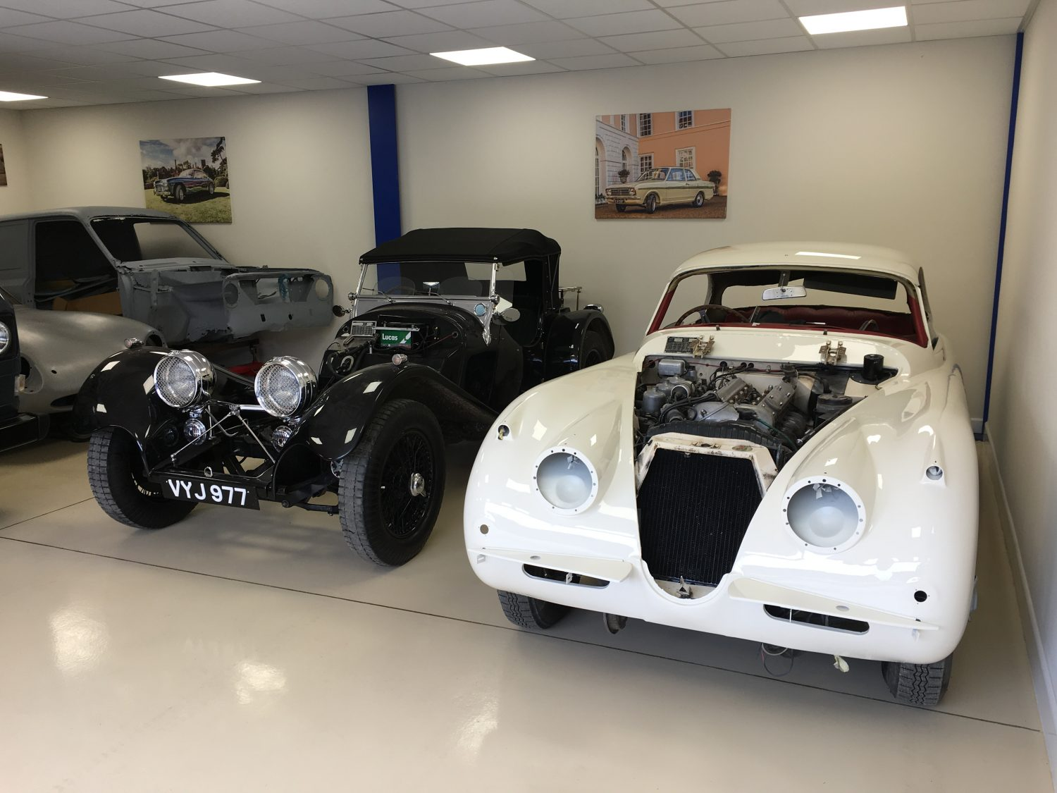 1961 Jaguar XK150 ready for refit