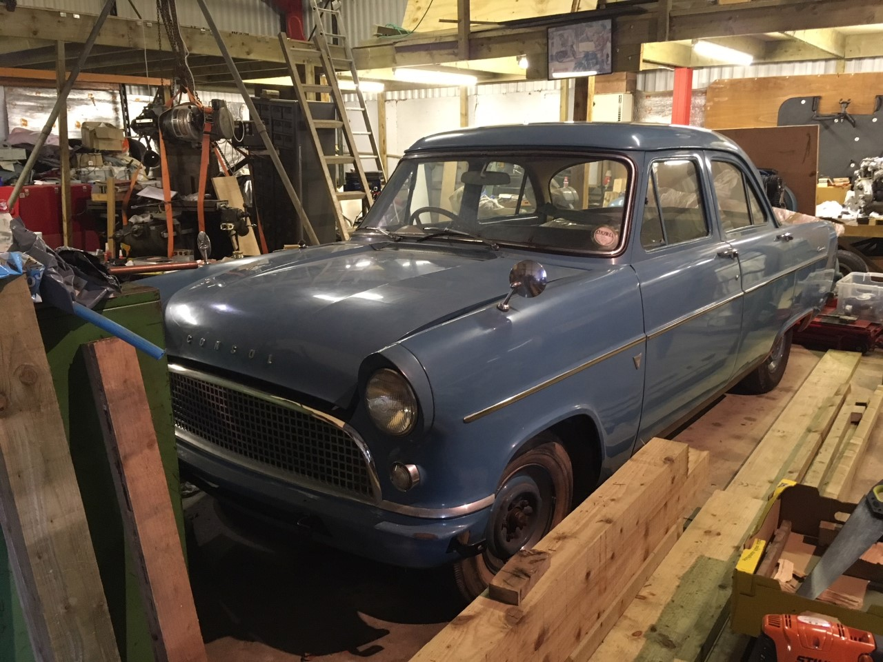 Coming soon: 1956 Ford Consul