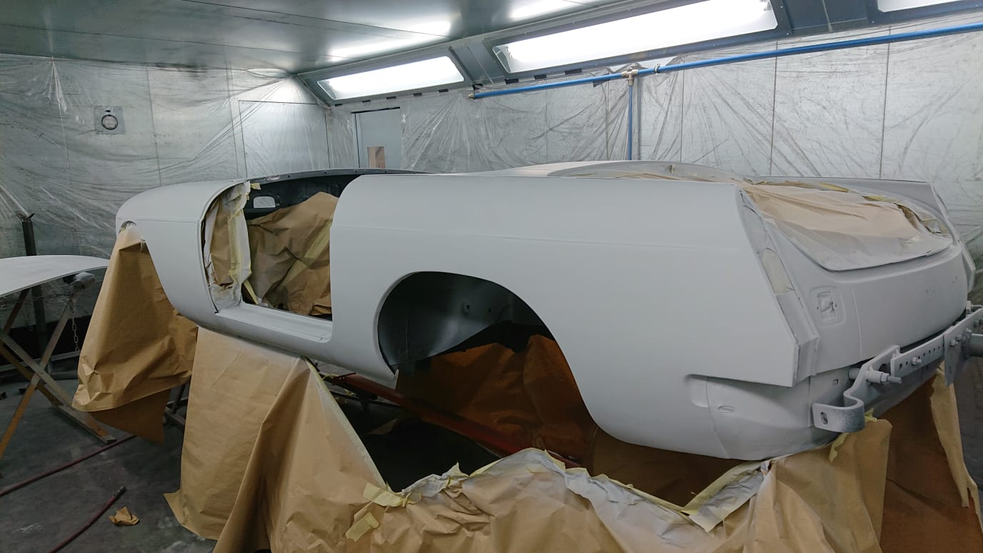 MGB Roadster – Final shaping and primer