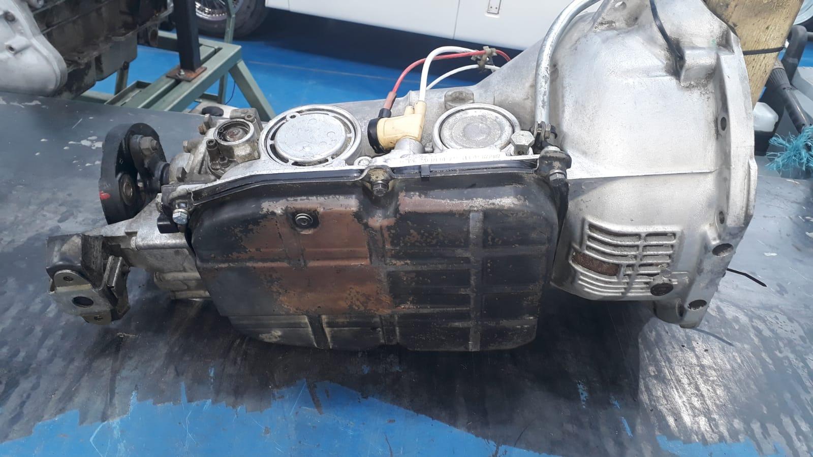 Refurbishing our SL500 gearbox
