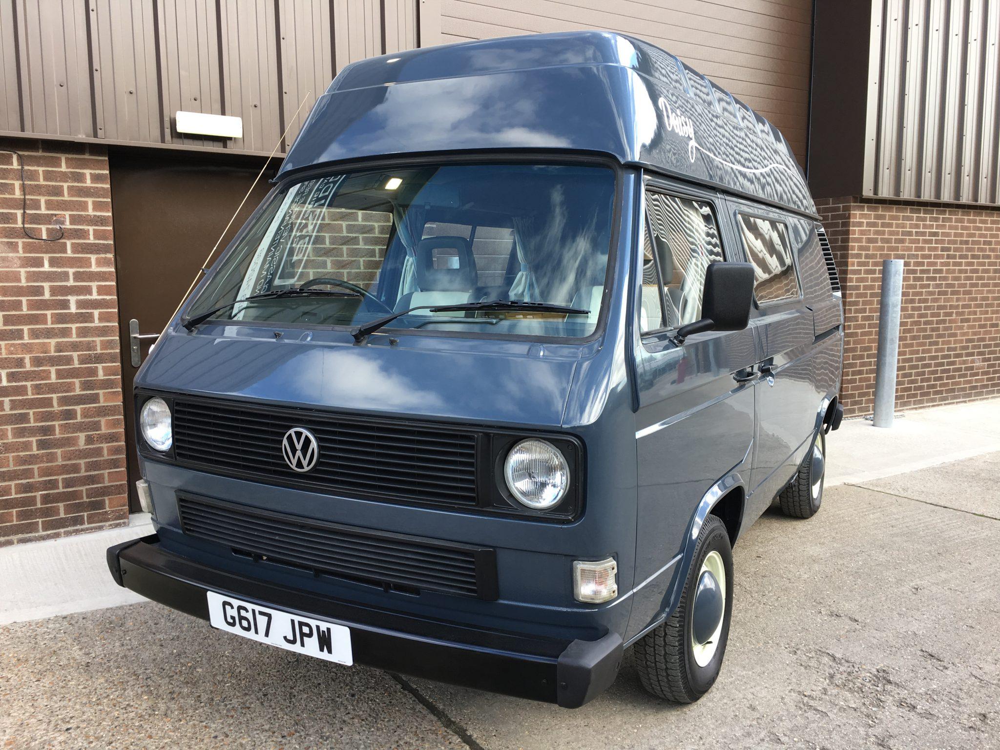 Gingham FABRIC BOTH SIDES Camper Van Curtain Set ORANGE VW T25,Blackout//Magnets