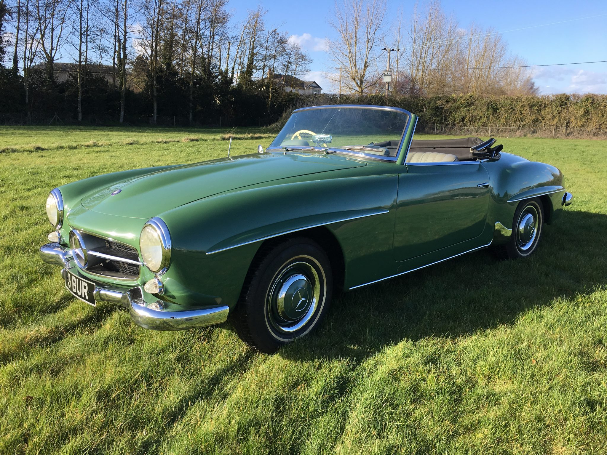 1957 Mercedes 190SL Ready For Sale