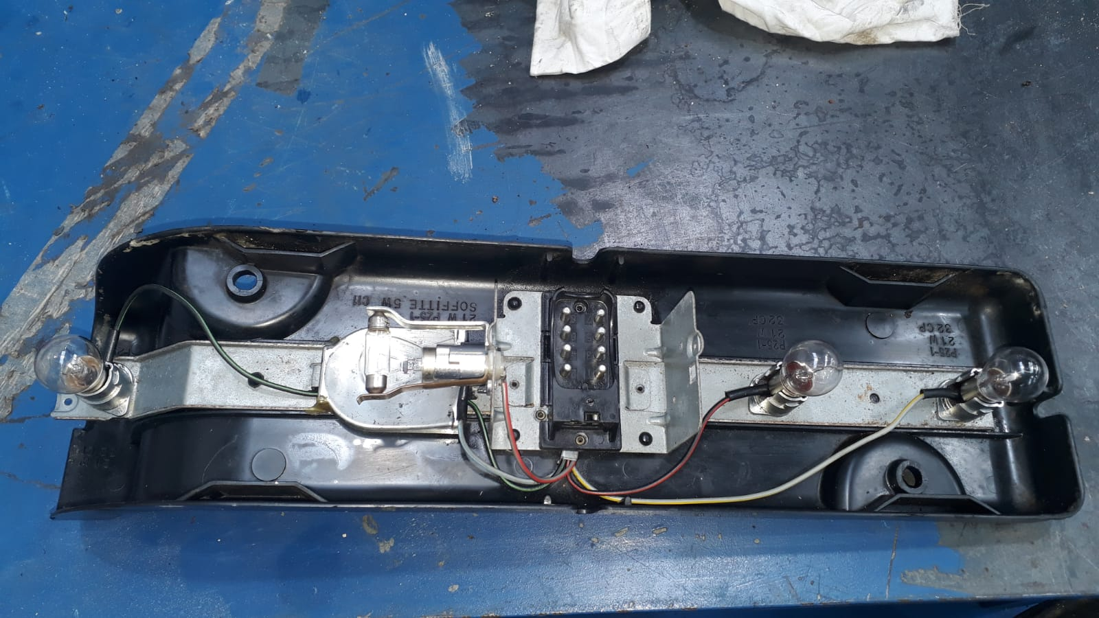 More Mercedes parts to sort…