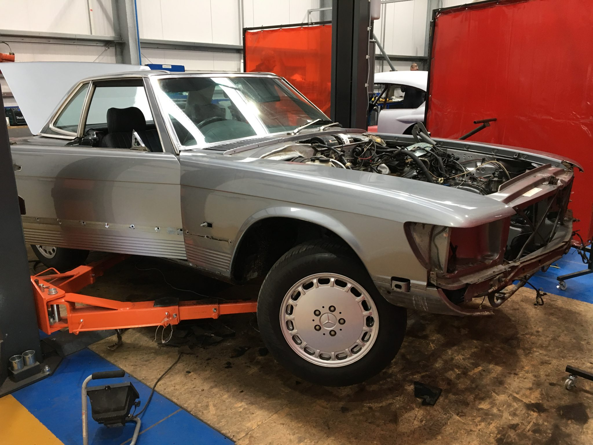 1987 Mercedes SL500 – Body Repair