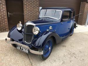 1936 Riley Merlin Nine Briggs Body