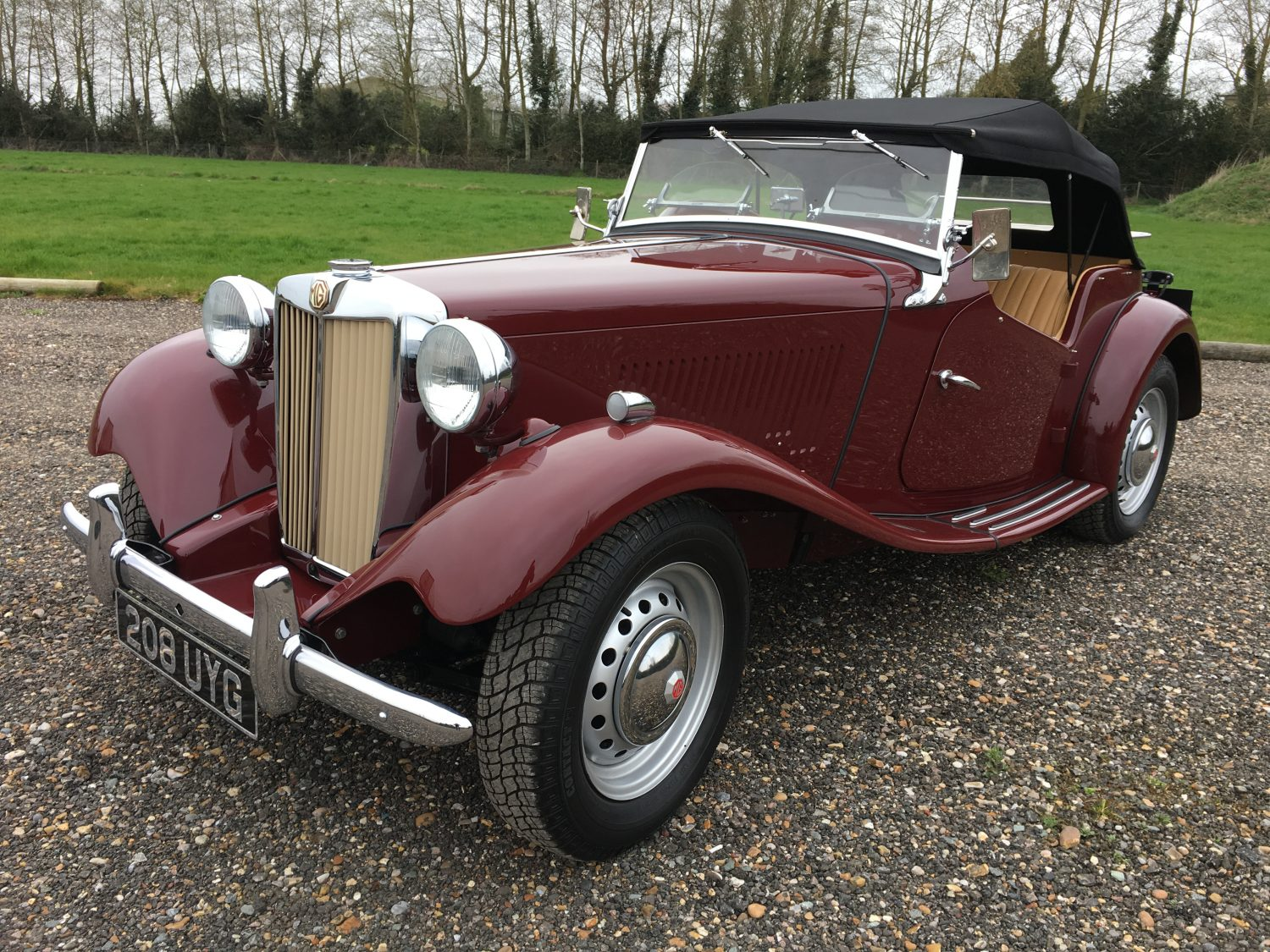 New Arrival: For Sale: 1952 MG TD