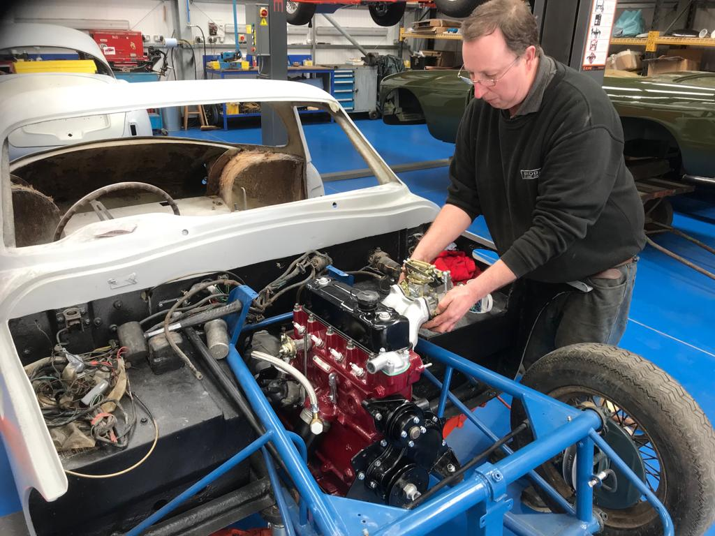 1962 TVR Engine – Re-fit