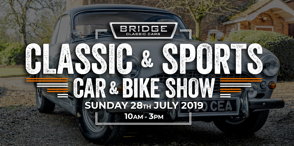Attendees: Classic & Sports Car & Bike Show: Sunday 28th July 2019