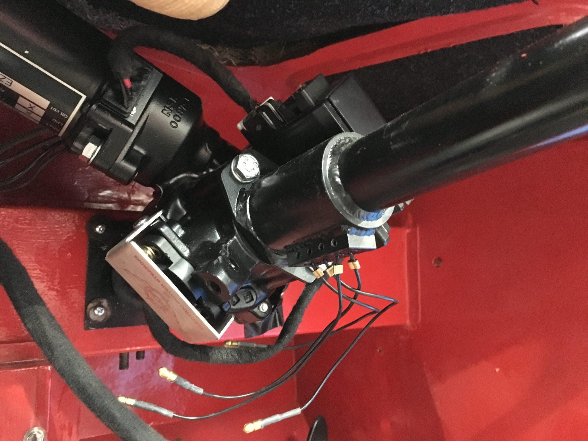 1955 Austin Healey Power Steering