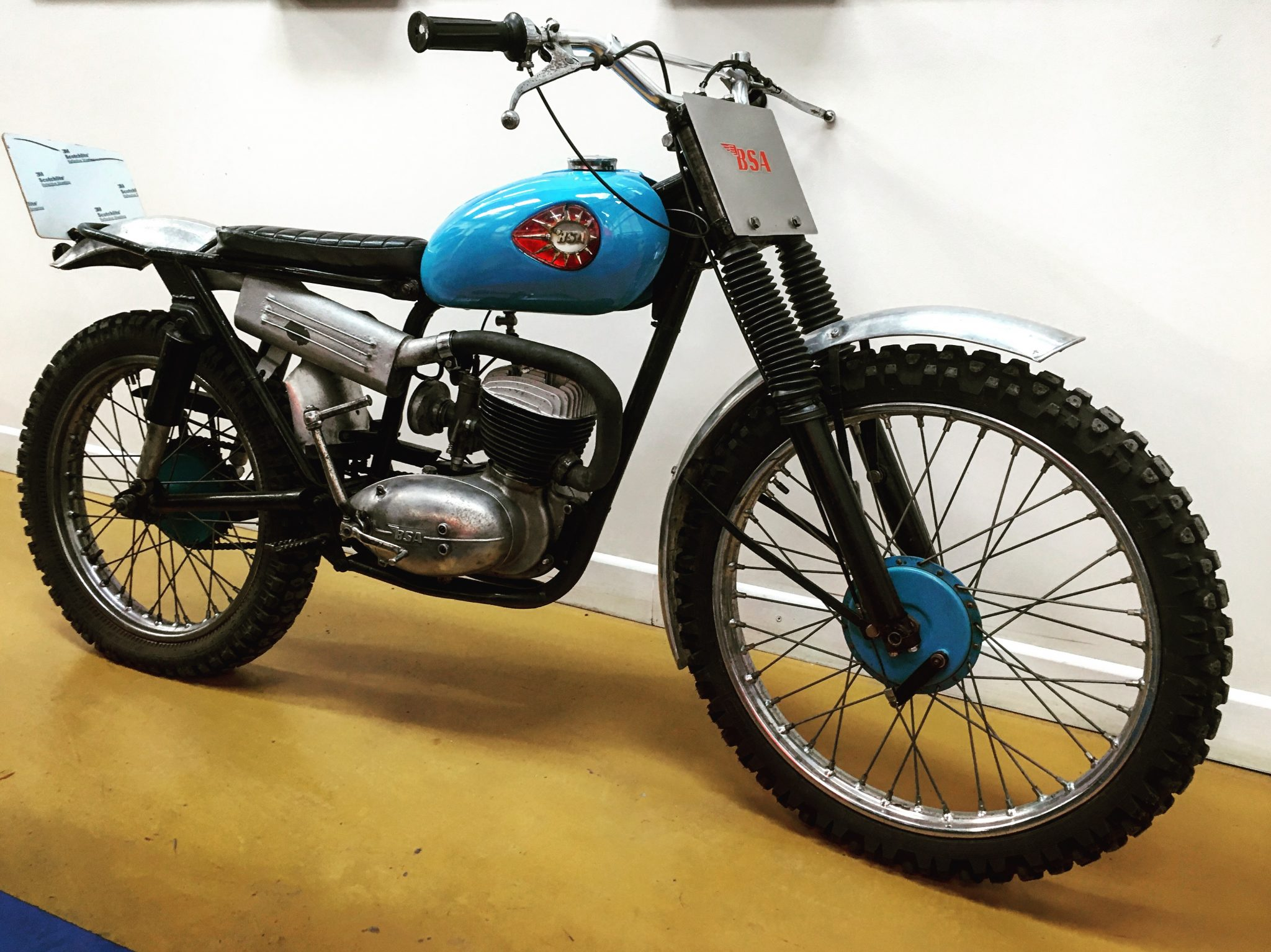New Arrival: 1963 BSA Trials