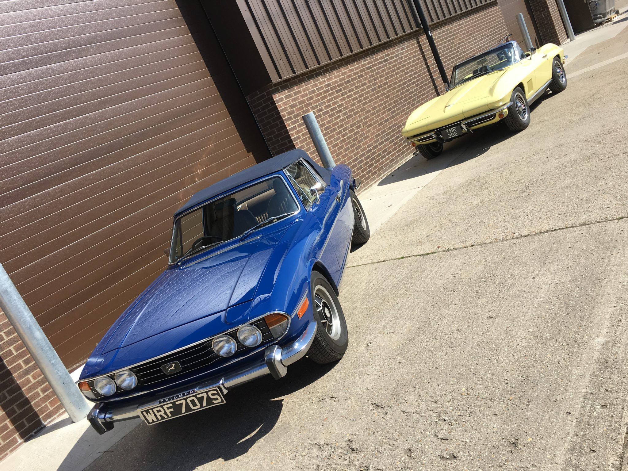 Triumph Stag ready for home
