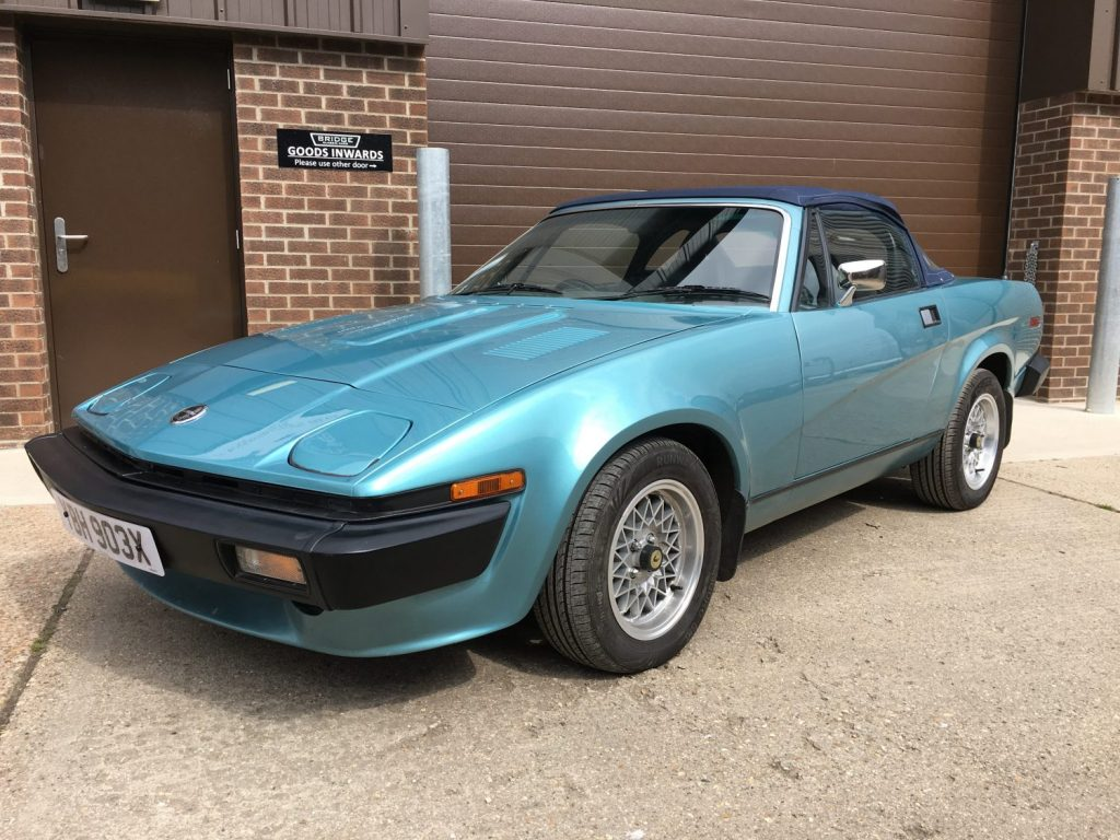1981 Triumph TR7 V8