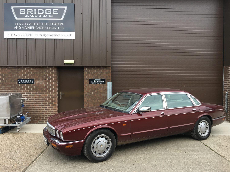 1998 Daimler Super V8: MOT time