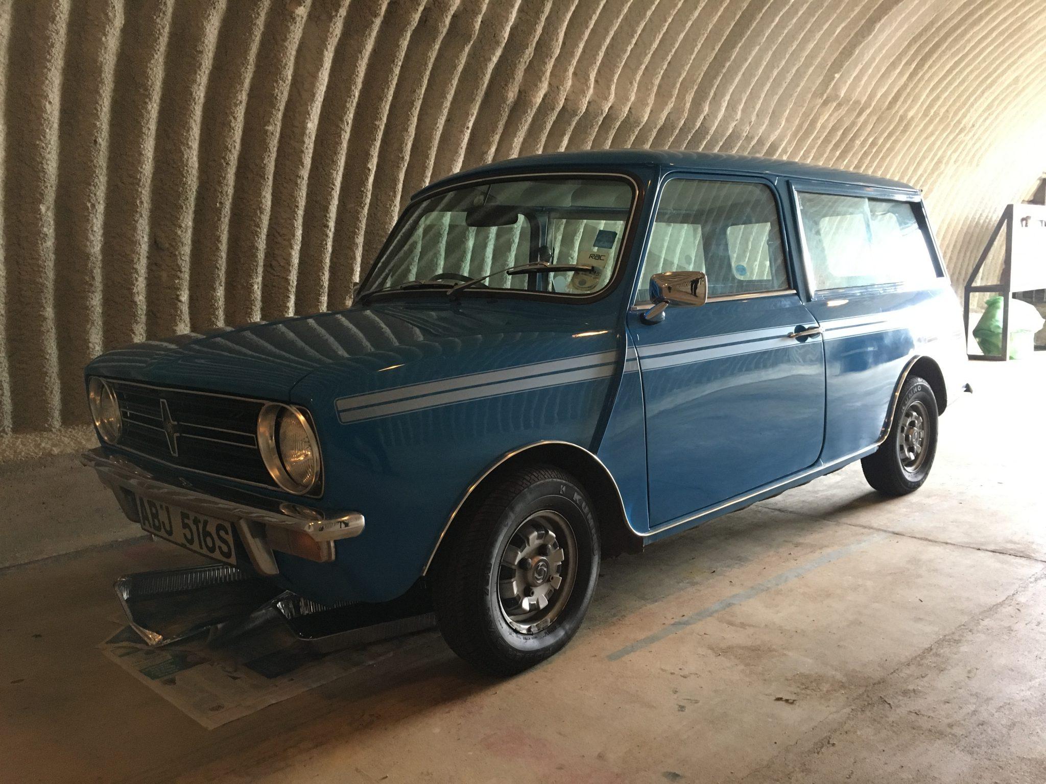 A familiar face: 1978 Mini Clubman 1100