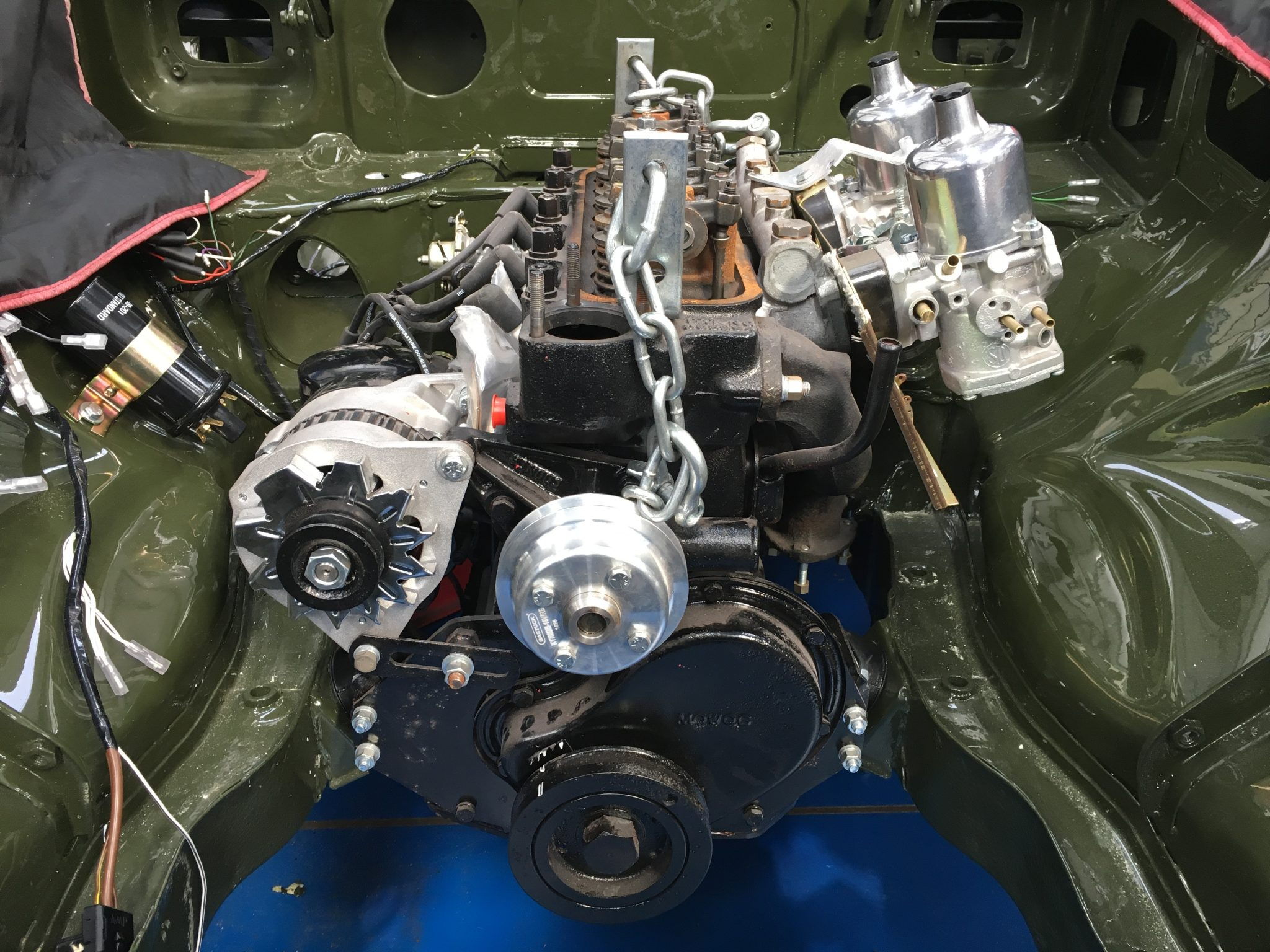 Re-instating the MGB engine