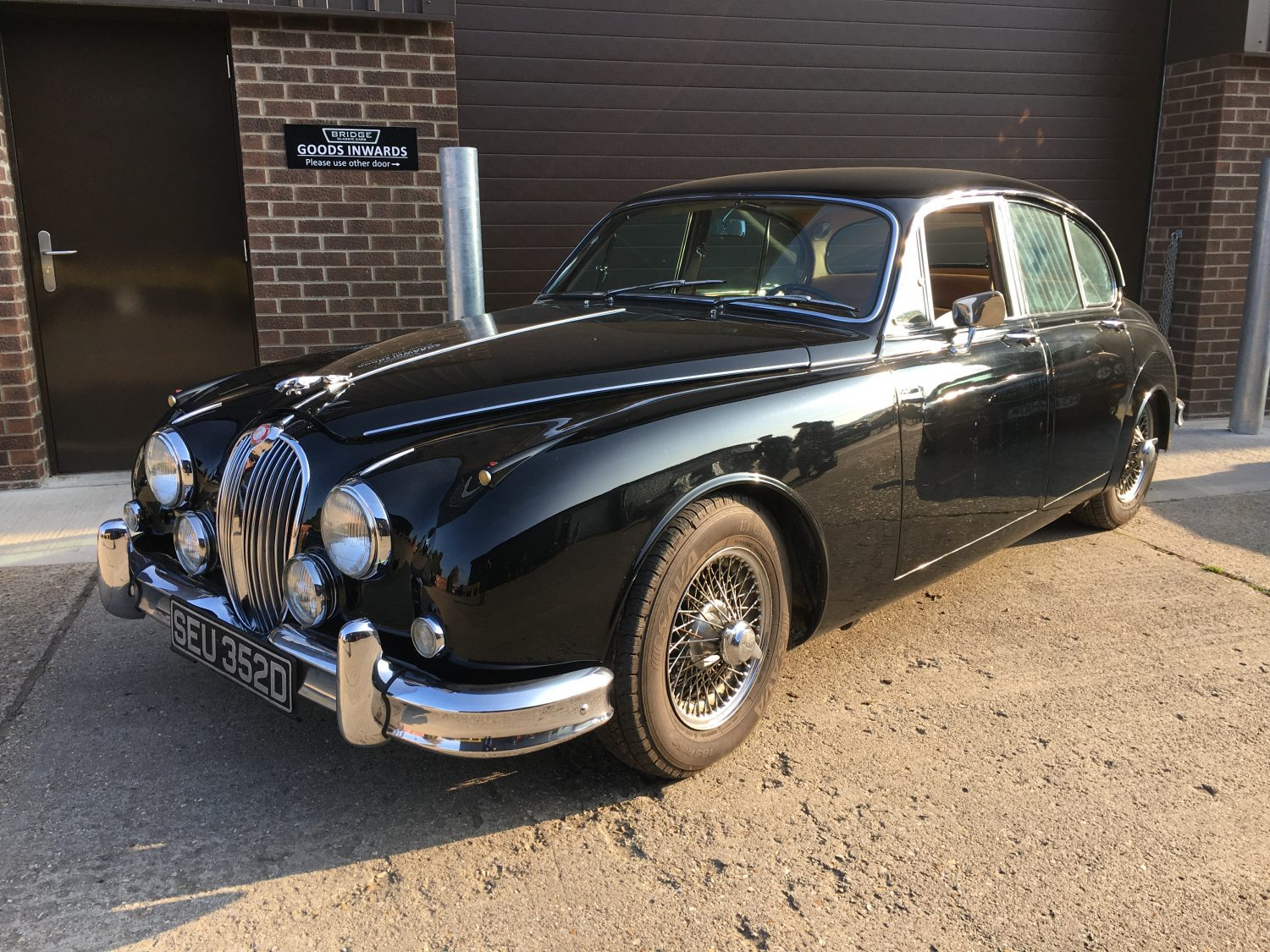 Running issues on our 1966 Jaguar MkII