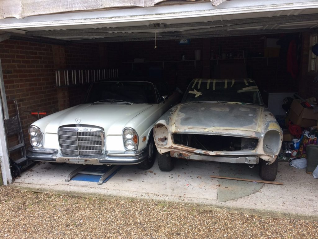 1970 Mercedes 280SL - Restoration - Bridge Classic Cars
