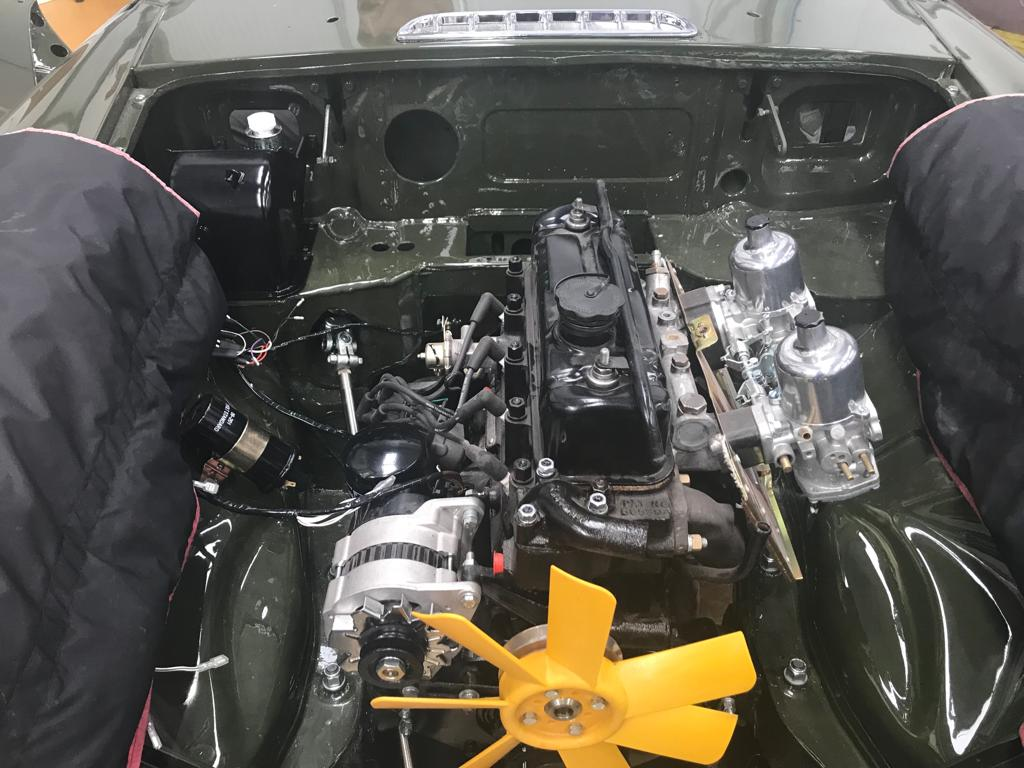1975 MGB Roadster: Rebuild Progress