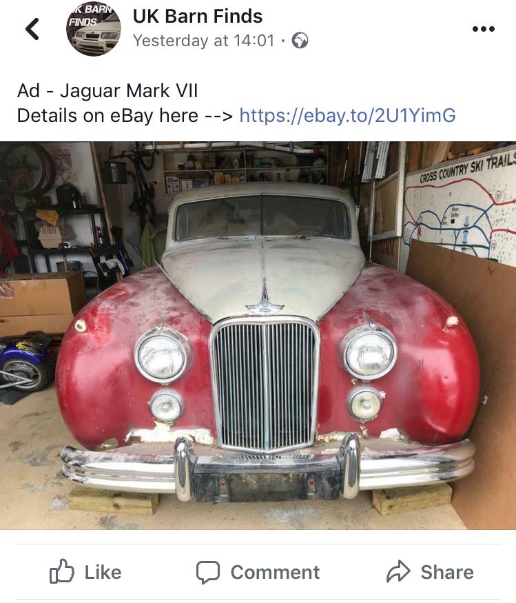 1952 Jaguar Mkvii Bridge Classic Cars Bridge Classic Cars