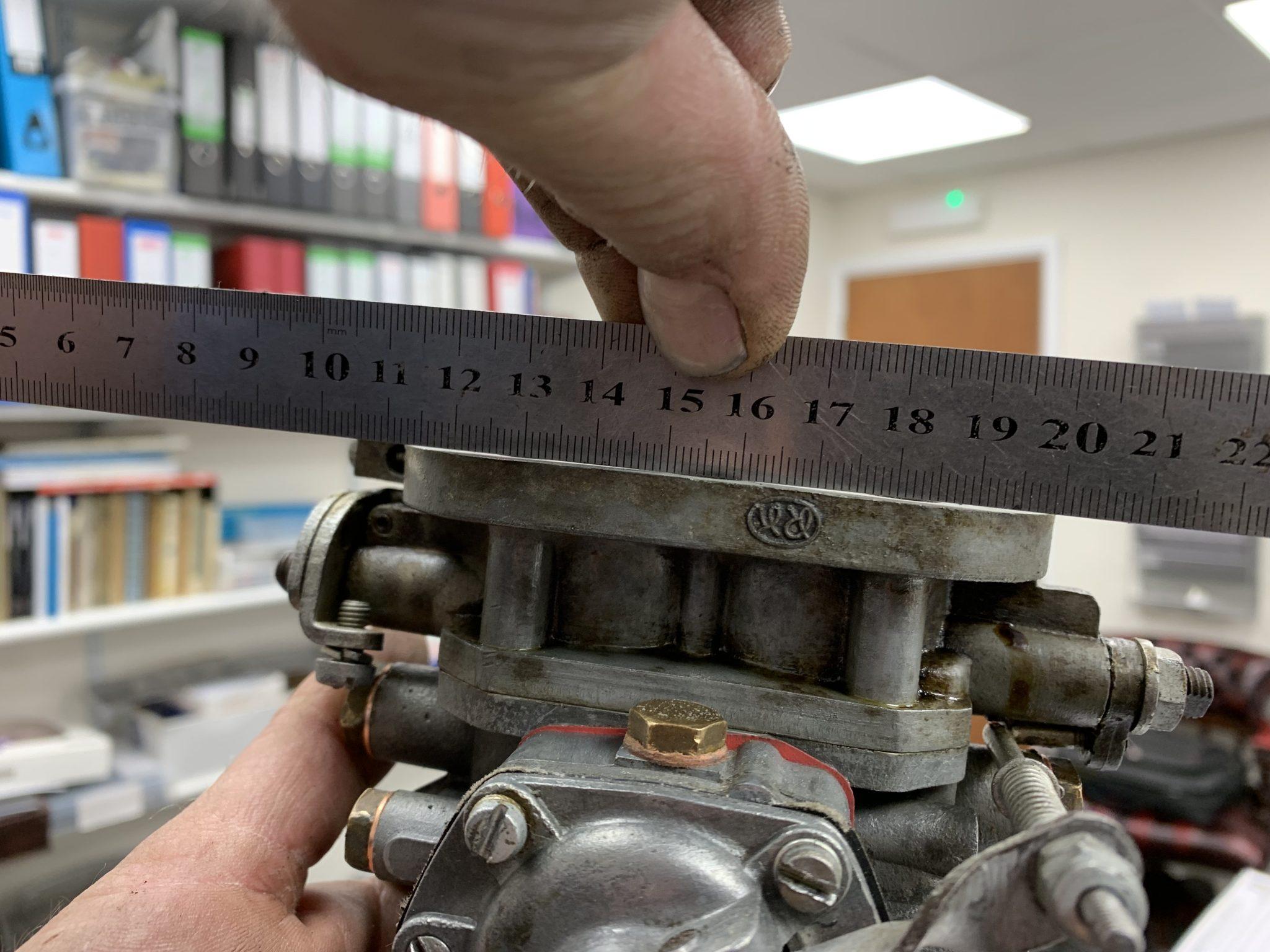 Mercedes 220 Engine work