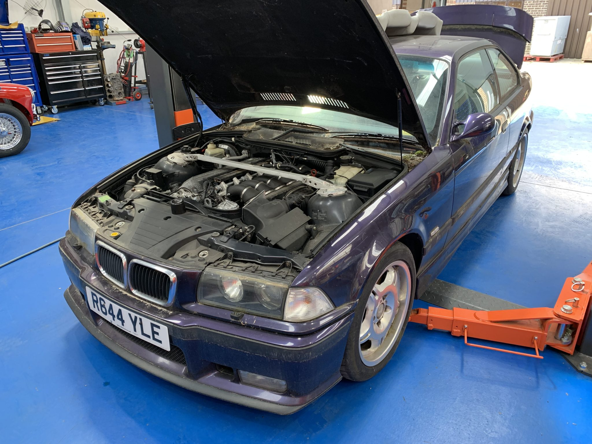 BMW M3 Evo Recommission