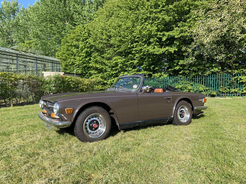 New Arrival: 1973 Triumph TR6