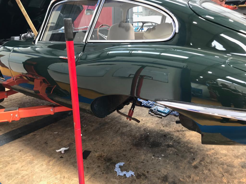 Unexpected issues on our E-Type