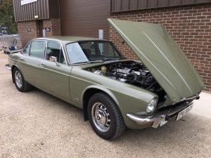 1974 Jaguar XJ6 Dashboard