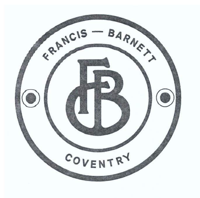 Franics Barnett Tank Badge Template