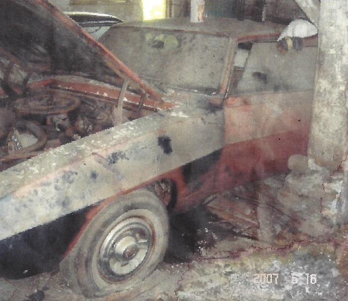 Pontiac Firebird Barn Find
