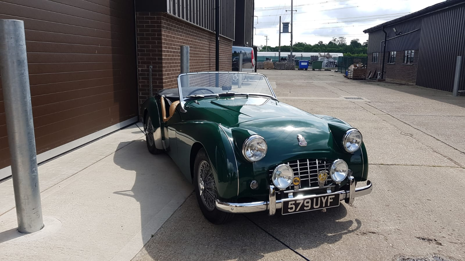 Faulty indicator on our 1957 Triumph TR3