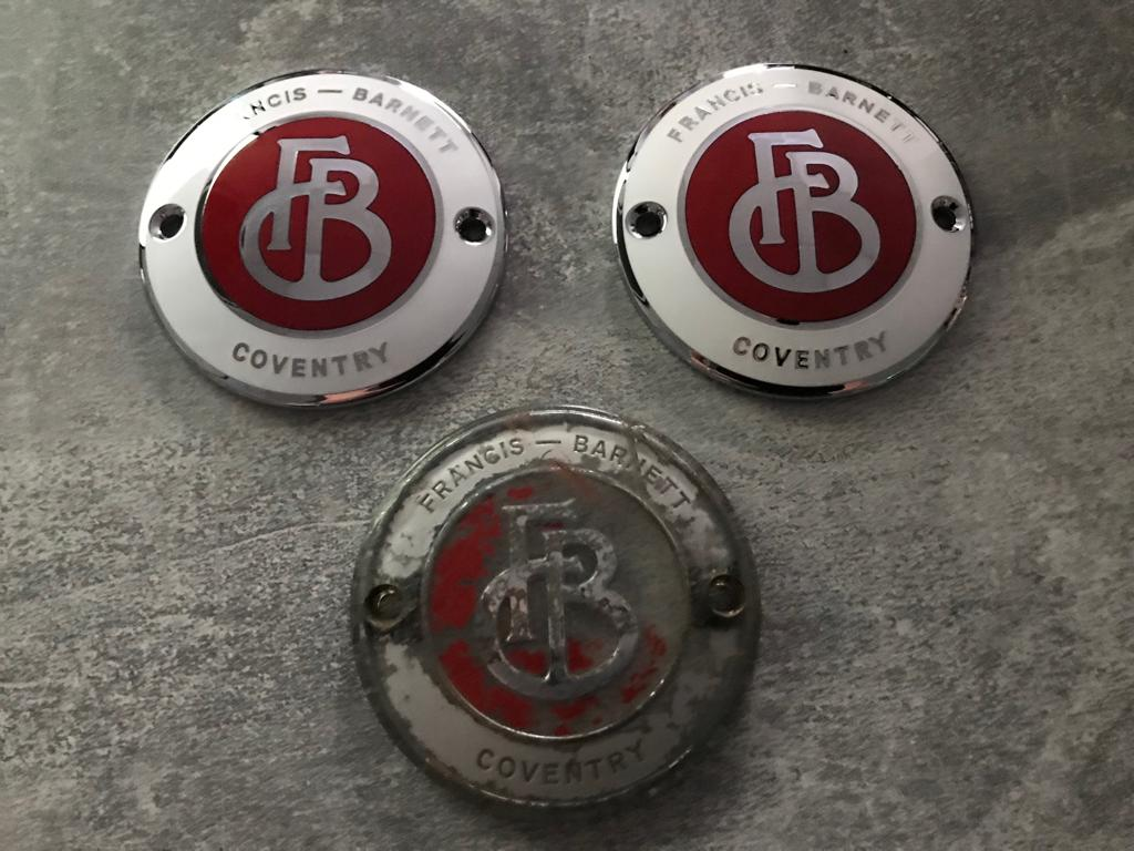 Manufacturing the new badges