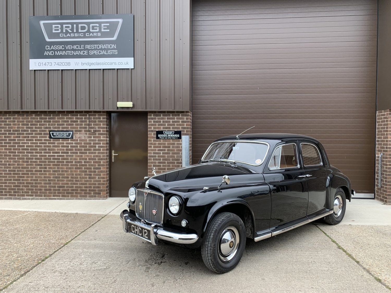 1954 Rover P4