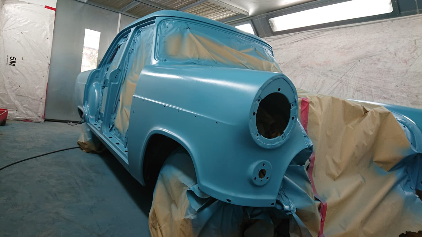 1956 Ford Consul in Primer