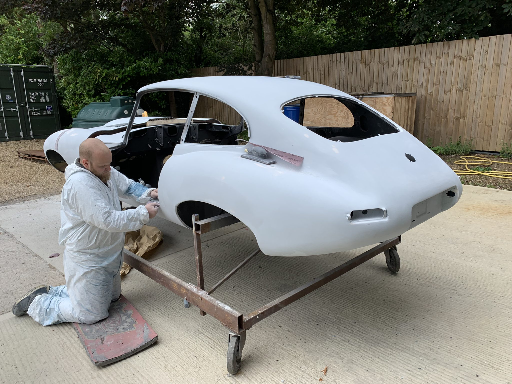 Preparing Racecar for Primer