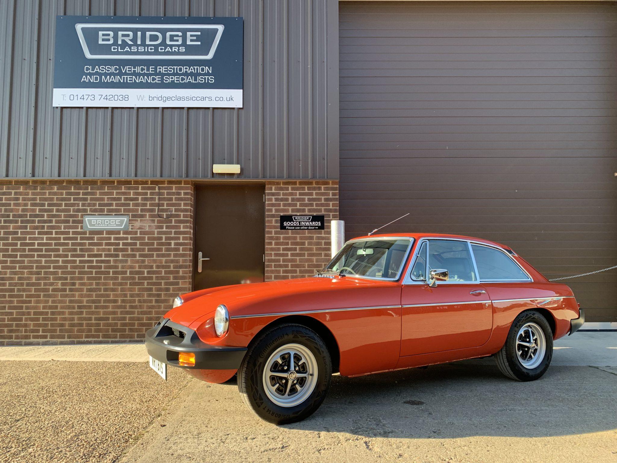 1977 MG BGT