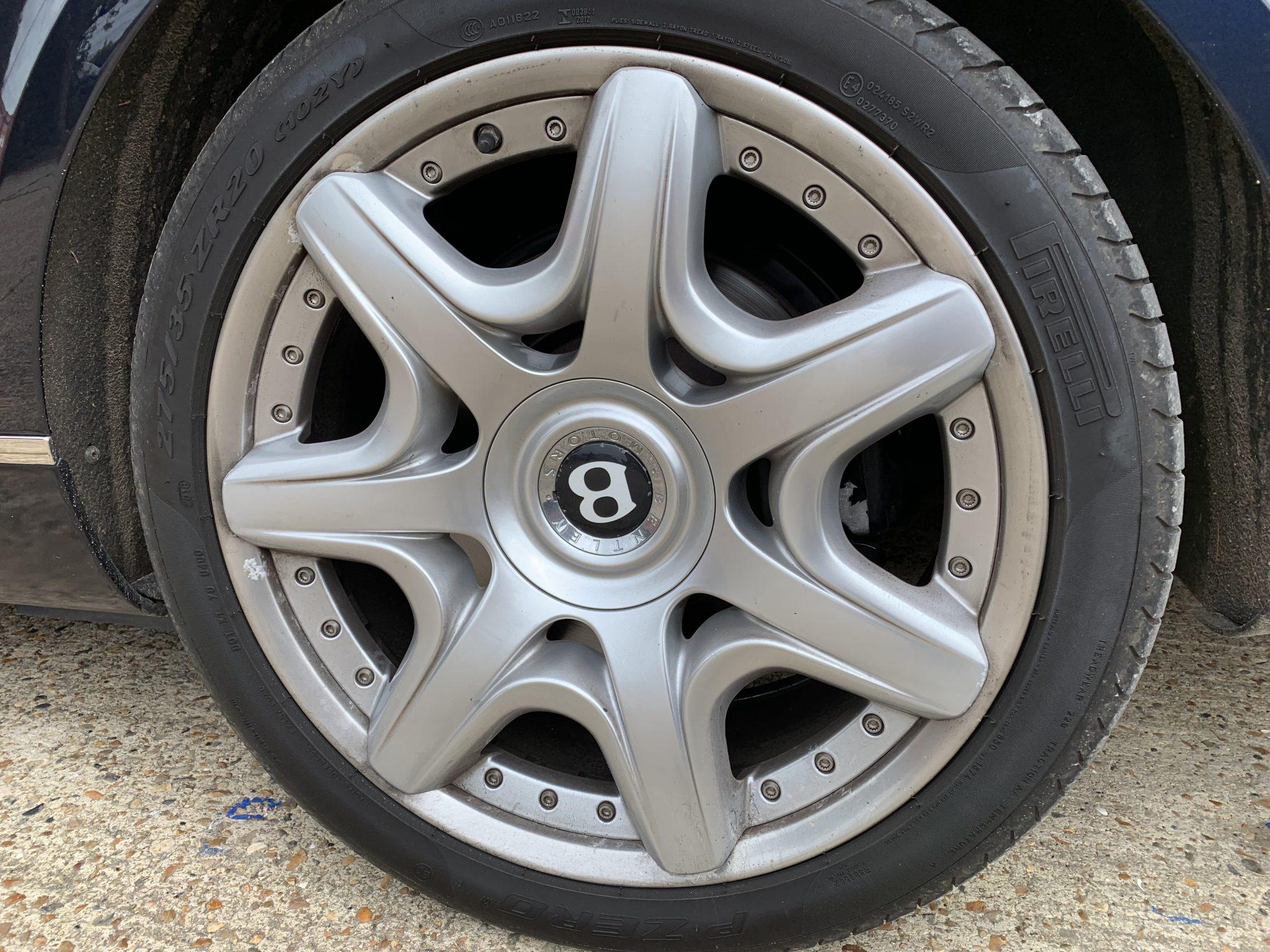 Bentley Continental Wheel Refurbishment